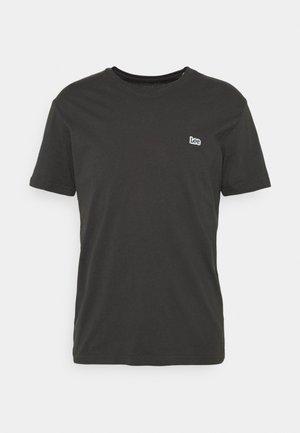 PATCH LOGO TEE - T-shirt - bas - washed black