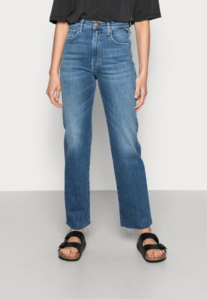 REYNE PANTS - Relaxed fit jeans - medium blue