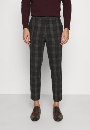 SHELDON TROUSER - Tygbyxor - charcoal