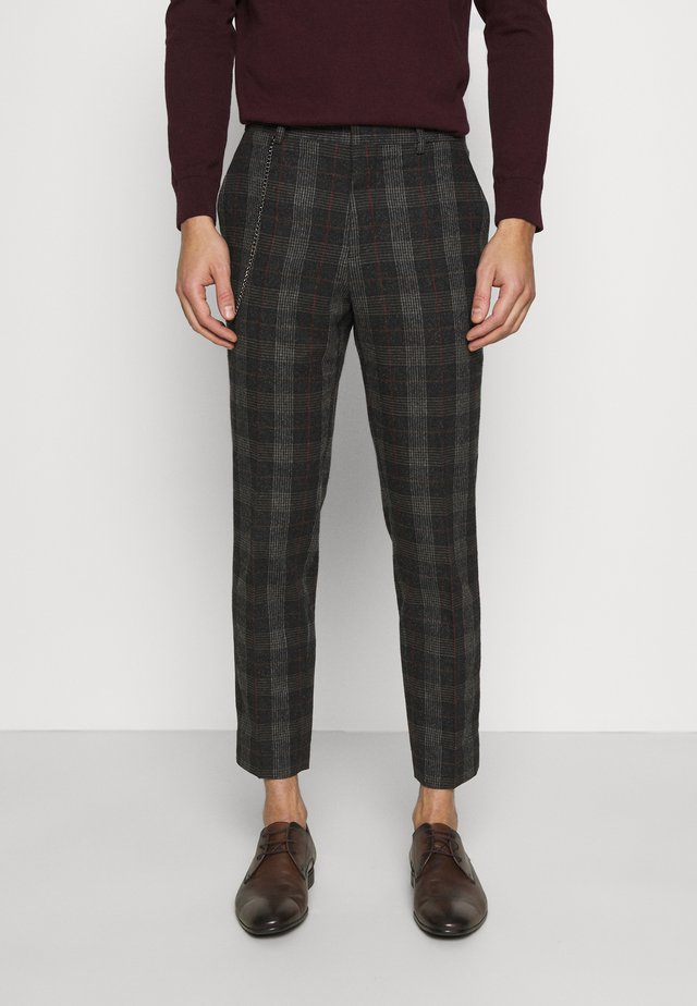 SHELDON TROUSER - Trousers - charcoal