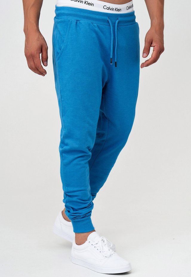 Pantalones deportivos - clear blue mix