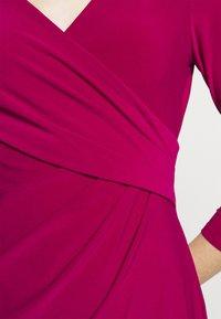 Lauren Ralph Lauren - MID WEIGHT DRESS - Shift dress - modern dahlia - 6