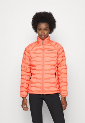 ARGON LIGHT JACKET - Zimní bunda - light orange