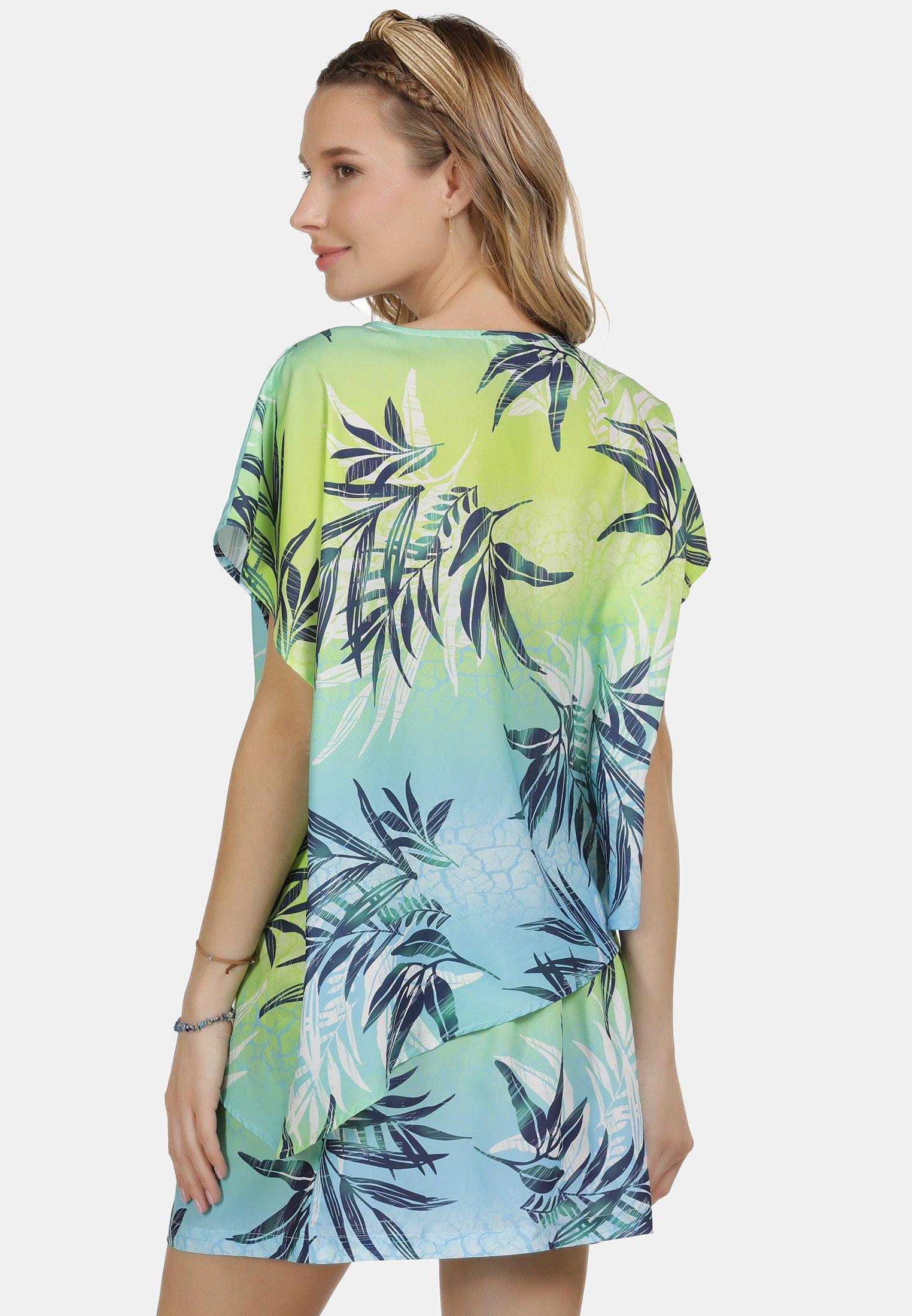 IZIA IZIA PRINT-SHIRT - T-shirt imprimé - tropical print - Tops & T-shirts Femme 3SLSa