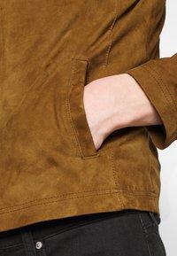 Serge Pariente - SYLVINO - Leather jacket - cognac - 5