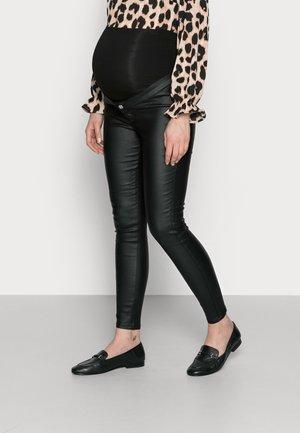 VICE COATED  - Skinny džíny - black