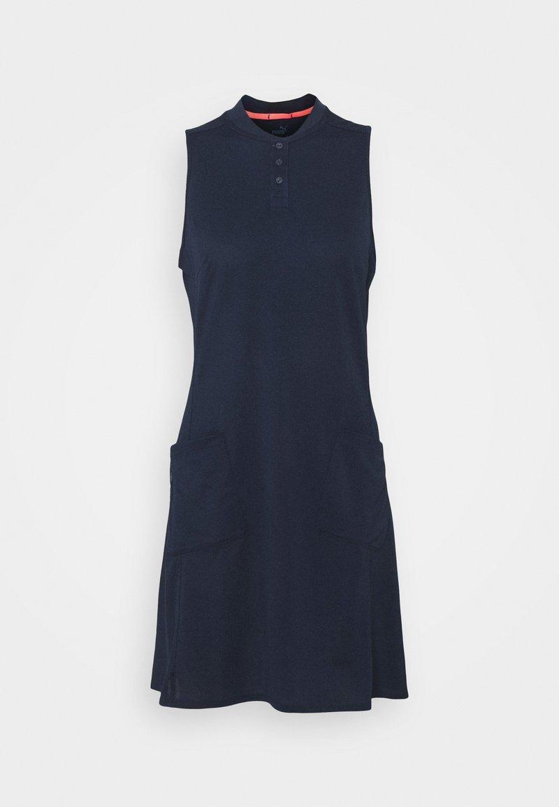 Puma Golf - FARLEY DRESS - Sportovní šaty - navy blazer