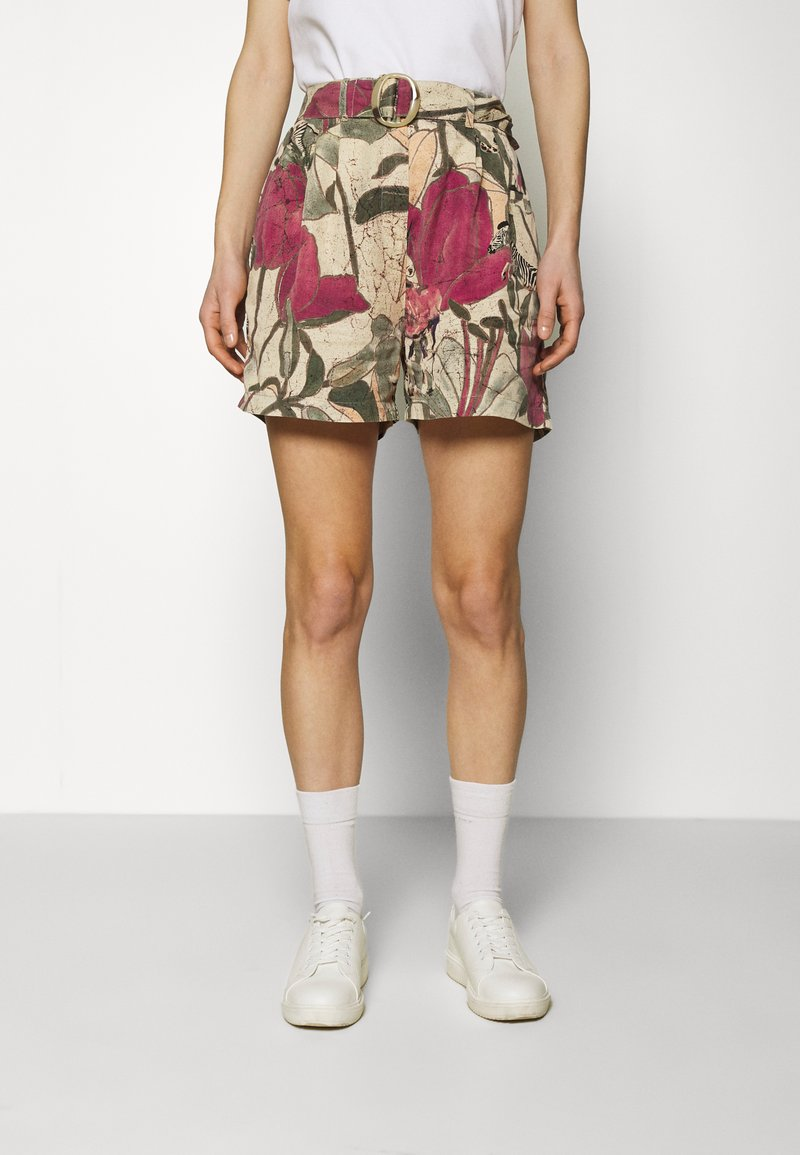 Desigual - PANT ETNICAN - Shorts - multi-coloured