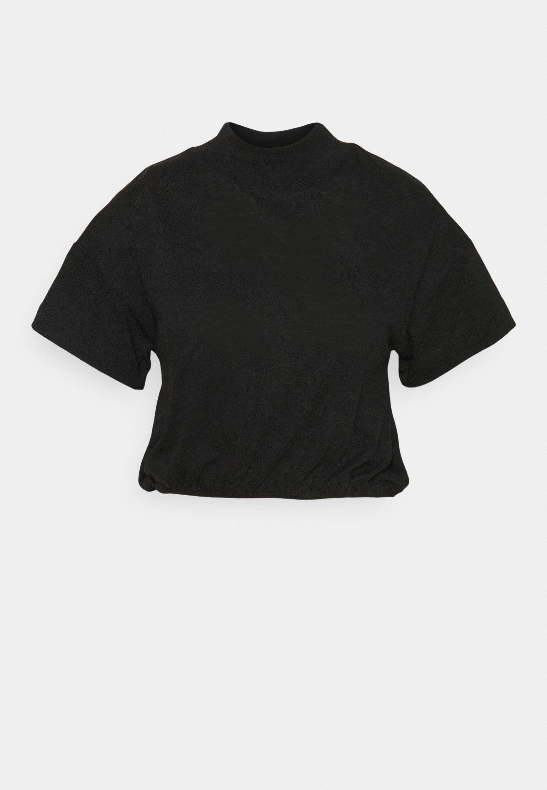 Women LIFESTYLE MOCK NECK - Basic T-shirt