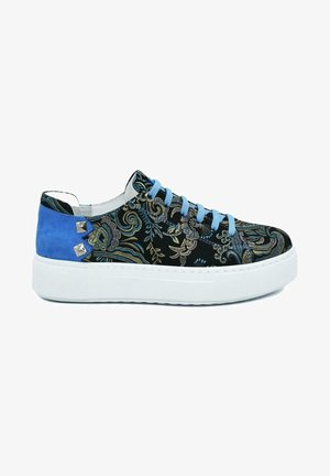 HAND MADE GENUINE  - Sneaker low - blue paisley