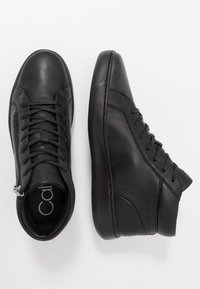 Calvin Klein - FRANSISCO HIGH TOP LACE UP - Sneakersy wysokie - black - 1