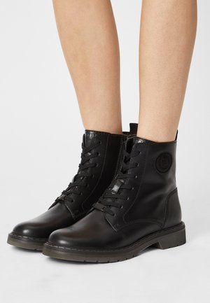MODENA - Lace-up ankle boots - black