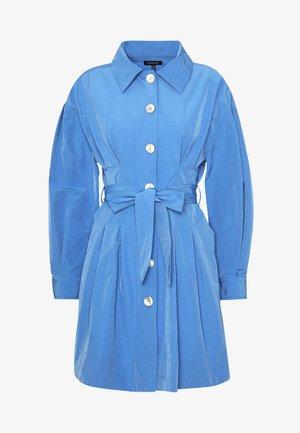 THE A LINE DRESS - Shirt dress - royal blue