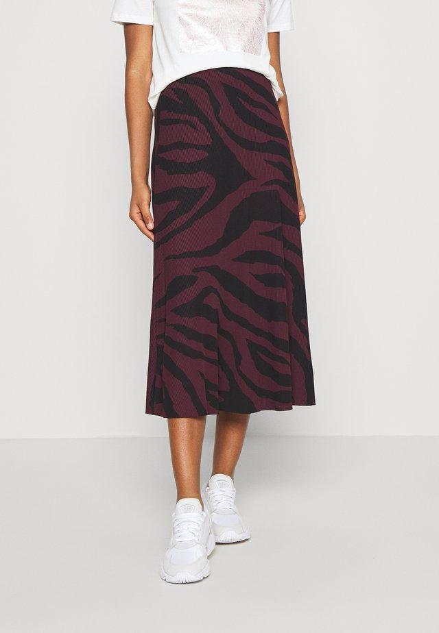 SIGGI SKIRT - Maxi skirt - winetasting