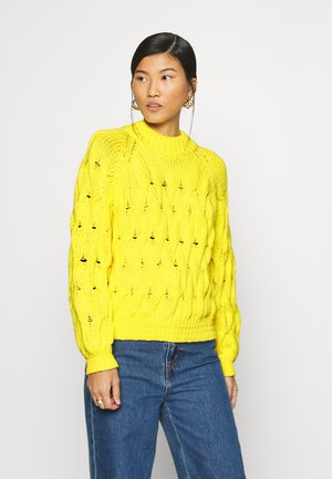 ALICE - Pullover - yellow