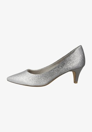 Pumps - pewter glam comb