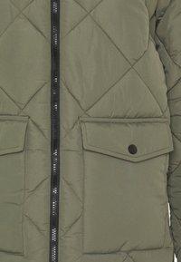 Noisy May Petite - NMFALCON LONG JACKET - Winter coat - dusty olive - 5