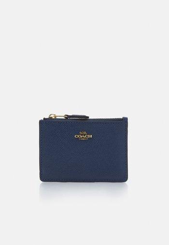 CROSSGRAIN MINI SKINNY - Wallet - deep blue
