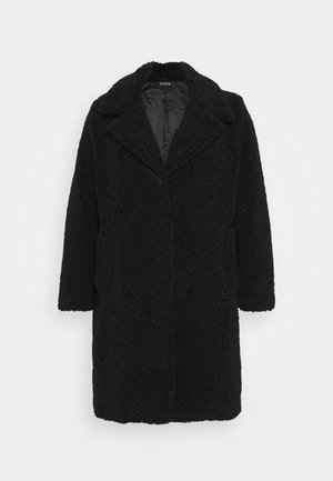 TEDDY COAT - Kåpe / frakk - black
