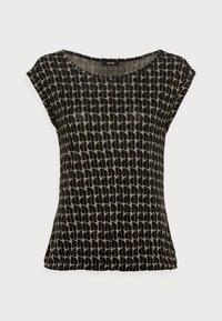 Opus - STROLCHI ABSTRACT - T-shirt imprimé - soft moss - 3