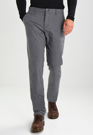CHUCK THE BRAIN - Broek - dark grey melange