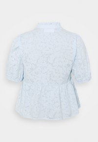 Selected Femme Curve - SLFPERNIL - Print T-shirt - arctic ice - 1