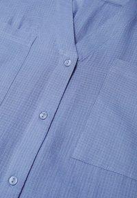 Mango - Blouse - blauw - 5