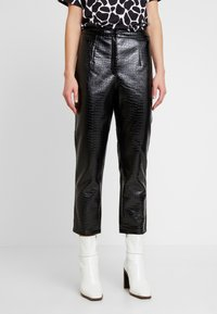 EDITED - KANI PANTS - Broek - schwarz - 0
