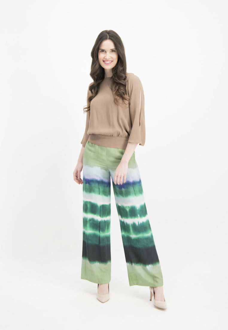 Nicowa - ANELLA - Trousers - green