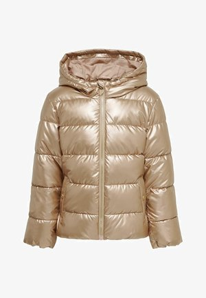 Winter jacket - frosted almond