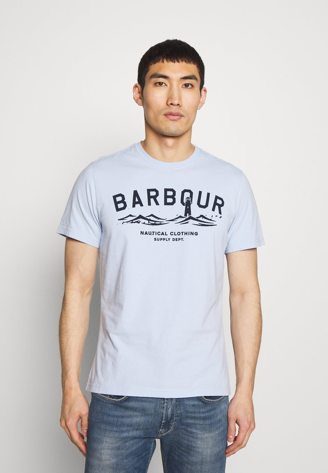 BRESSAY TEE - Print T-shirt - heritage blue