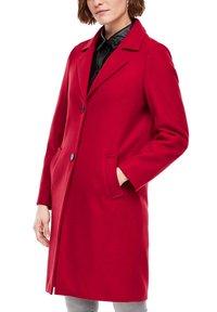 s.Oliver - langarm - Classic coat - dark red - 4