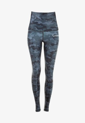 HWL102 CAMO HIGH WAIST - Leggings - camo grey