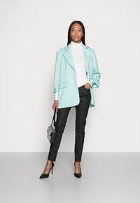 Esprit - HIGHNECK - Long sleeved top - off white - 1