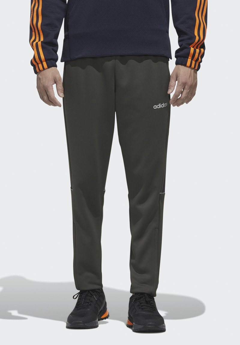 adidas Performance - INTUITIVE WARMTH SERENO JOGGERS - Tracksuit bottoms - green