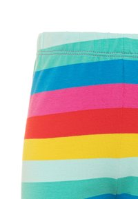 Frugi - ORGANIC COTTON LIBBY RAINBOW STRIPE - Leggings - Trousers - flamingo/multicolor