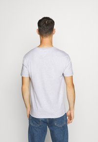Tommy Jeans - PLAID COLLEGIATE  - T-shirt con stampa - silver grey0001D009U5B - 2