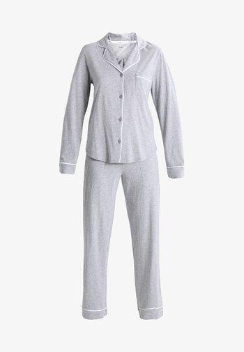 NEW SIGNATURE - Pyjama set - grey heather