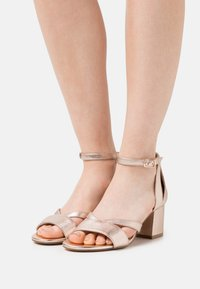 Anna Field Wide Fit - LEATHER - Sandały - rose gold - 0