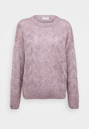 LADIES - Sweter - mauve