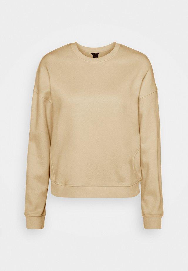 PERNILLE - Sudadera - light beige
