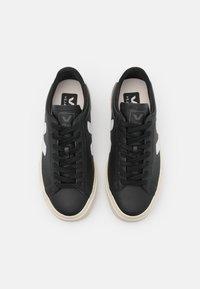 Veja - CAMPO - Sneakersy niskie - black/white - 5