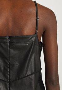 MM6 Maison Margiela - DRESS - Shift dress - black - 6