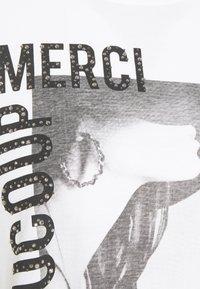 Rich & Royal - MERCI BEAUCOUP - Print T-shirt - black - 2