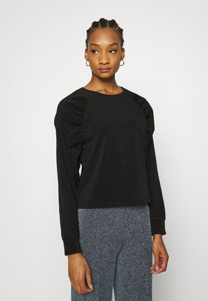 GLITTER TUTU - Long sleeved top - black