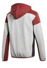 adidas Performance - Zip-up hoodie - grey - 9