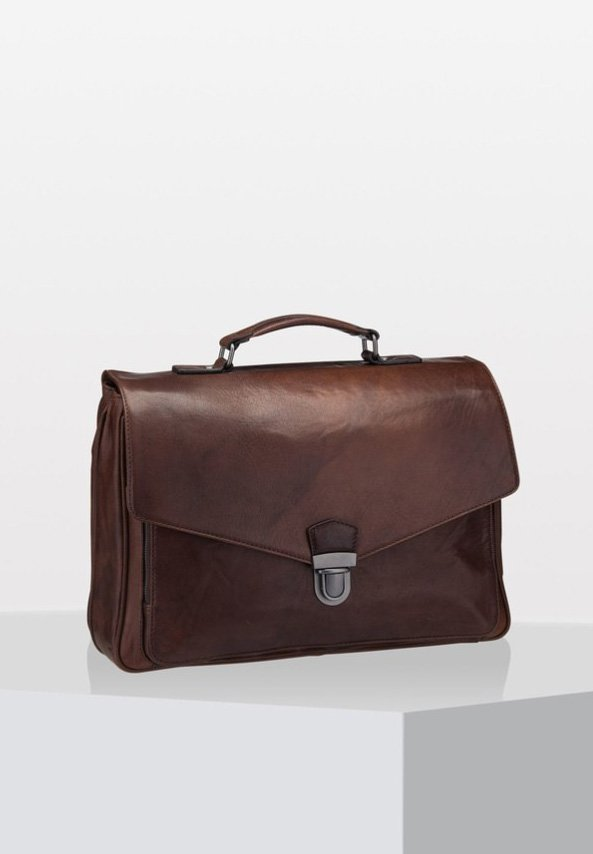 AUSTIN - Briefcase - brown