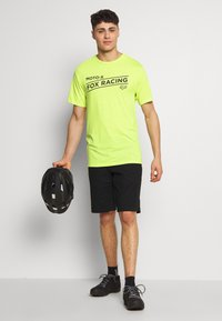 Fox Racing - BANNER TECH TEE - T-Shirt print - lime - 1