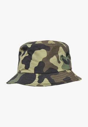 BUCKET - Hat - green camo