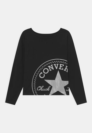 OVERSIZED CHUCK PATCH DOLMAN - Top s dlouhým rukávem - black